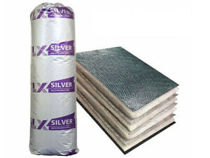 TLX Silver Multifoil Insulation Vapour Barrier 1200mm x 10m 12m²Pack