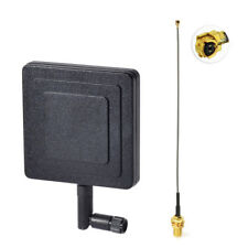 2.4GHz 8dBi WiFi Antenna RP SMA with IPX U.FL Cable for USB WiFi Adapter Hotspot
