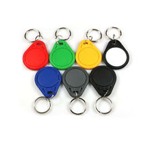 100pcs Thin 26 Bit Proximity Key Fobs Prox Keyfobs Work With 1386 1326 H10301
