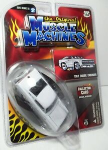 The Original Muscle Machines 1967 Dodge Charger Series 2 White Egg Shaped