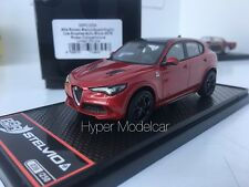 BBR Model 1/43 Alfa Romeo Stelvio Q4 Quadrifoglio V6 Biturbo 2016 Red BBRC200A