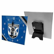 NRL Desk Clock  - Canterbury Bulldogs - Gift Box - Rugby League Football - BNWT