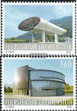 Liechtenstein 1547-1548 (compleet.Kwestie.) gestempeld 2010 Bouwen