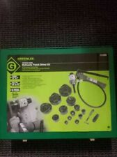 Greenlee Hydraulic Knockout Punch Set