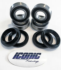 Yamaha Rhino 450 660 700 2005-2013 BOTH Rear Wheel Bearing and Seal Kits