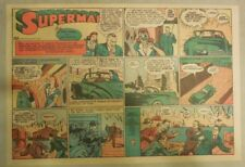 Superman Sunday Page #98 by Siegel & Shuster from 9/14/1941 Half Page:Year #2!