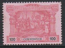 Portugal - 1898, 100r Carmine/Rose Postage Due - L/M - SG D390