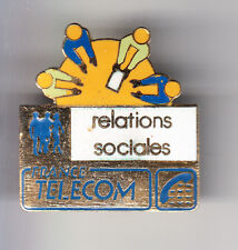 RARE PINS PIN'S .. PTT LA POSTE FRANCE TELECOM DRH RELATIONS SOCIALES EMAIL ~BX