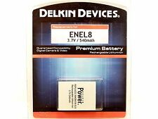 NEW Delkin Devices EN-EL8 Lithium Ion Battery (For Nikon) - 540mAh 3.7v
