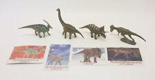 Furuta Dinosaur Triceratops Pachycephalo Parasaurolophus Brachiosaurus Kaiyodo