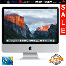 """Apple iMac 20"""" Core 2 Duo 2.4GHz 3GB RAM 320GB HD A1224 With Keyboard Mouse UK"""