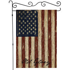 Vintage American Flag Double-sided Outdoor Garden Flag Yard Flags Banner
