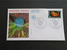 FRANCE 1973, FDC 1° JOUR, EUROPA, FRANCOIS FARCIGNY, ART, VF