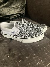 Vans Slip On Snake Print Size 4 Pumps