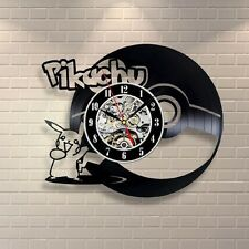POKEMON_Exclusive wall clock made of vinyl record_GIFT