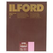 Ilford MGFB Multigrade Warmtone 50x60/10f Carta Fotografica Baritata B/N Lucida