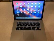 Apple MacBook Pro 15 Quad Core i7 Pre-Retina Mac OS-2016 16GB RAM 1TB SSD FUSION