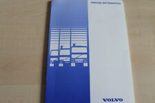 161950) Volvo LKW - IAA Hannover - Pressemappe 09/1998