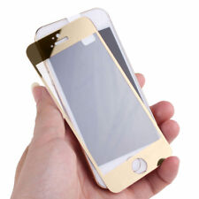 PACK OF 2 Premium Tempered Glass 9H Screen Protector for iPhone 5 5s SE - Gold