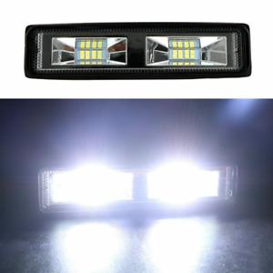 "1pc 6"" 48W ATV LED Work Light Bar Spot 4WD Offroad Fog  Driving Lamp Bulbs 6000K"
