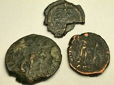 New ListingAncient Auth. 3 Rare$ Roman Coins; 307 - 361 Ad; Spearing, Emp. Crown & Wreath