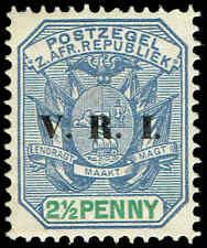 Scott # 205 - 1900 - ' Pietersburg Issue ', Ovpt VRI In Black