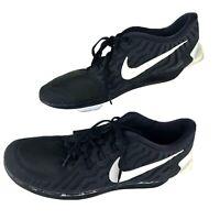 Nike Free 5.0 Men's Running Shoes 724382-002 Men US 14 Black/White