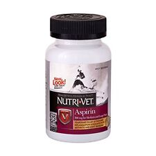 Nutri-Vetâ® K-9 Aspirin 300Mg Chewables For Medium And Large Dogs - 75 Count
