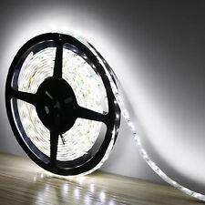 5M 3528 LED Strip Bande Lumière flexible Non étanche Blanc Froid Voiture Lampe