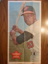 1968 TOPPS BASEBALL PIN UP POSTER #24 FRANK ROBINSON  EXCELLENT++