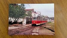 Foto, Berlin-Mitte, BVG-Straßenbahn, Rekozug der Linie 46