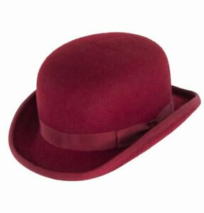Christys' Hats Bowler Hat - Red