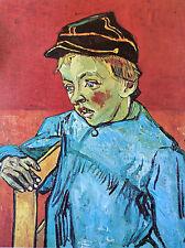 Vincent Van Gogh Camille Roulin l'écolier lithographie Musée Sao Paulo Brésil