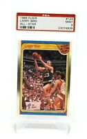 Larry Bird 1988-89 Fleer # 124  Boston Celtics Basketball All StarPSA 9 MINT 9