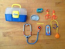 Keenway Junior Doctors Kit 7 Piece with Beeper Scissors Stethoscope B/ Pressure