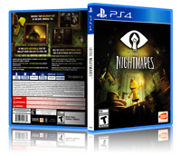 Little Nightmares - ReplacementPS4 Cover and Case. NO GAME!!