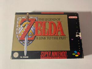 The Legend of ZELDA SNES Pal Spain España ERBE Super Nintendo manual secreto ESP