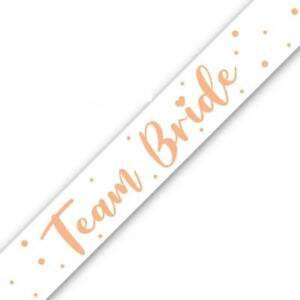 9ft Team Bride Foil Banner Hen Night Do Bride To Be Wedding Party Decorations
