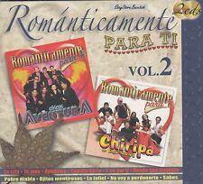 Chicos Aventura y Grupo Chiripa Romanticamente Vol 2 New Nuevo Caja de Carton