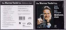 The Warren Vache Trio - Midtown Jazz CD 1983 jz4.56