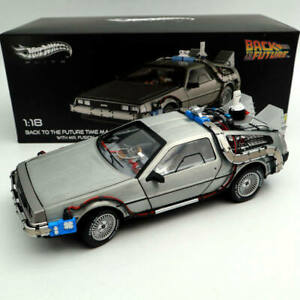 Hot Wheels 1:18 Elite Back To The Future Time Machine BCJ97 Diecast Edition