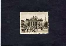 C1950's Photo Image of the Stock Exchange, Brussels.