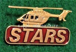 EMS STARS AIR AMBULANCE HELICOPTER Western Canada Lapel Pin Mint
