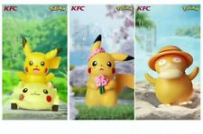 2019 Pokemon Pikachu KFC Toys Completed Set 3 PCS