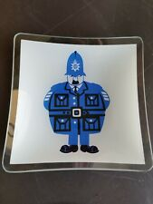 Kenneth Townsend Chance Glass Sights Of London Bobby Policeman glass candy dish