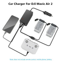Mavic-Air 2 Car Charger 3-in-1 Intelligent Battery Charger for DJI Mavic Air 2