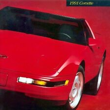 1991 CORVETTE Z51 - DEALER BOOK BROCHURE - C4 CHEVROLET - 91 350 5.7L L98 - NEW