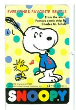 """Single Playing Card Charles Schultz Art, Peanuts, """"Snoopy"""" SC-18-4 A"""