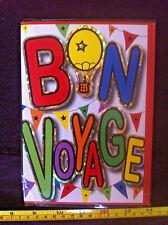 Bon Voyage Card & Envelope New
