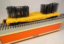 Lionel #6-36020 Trailer Train Flatcar w/Auto Frames
